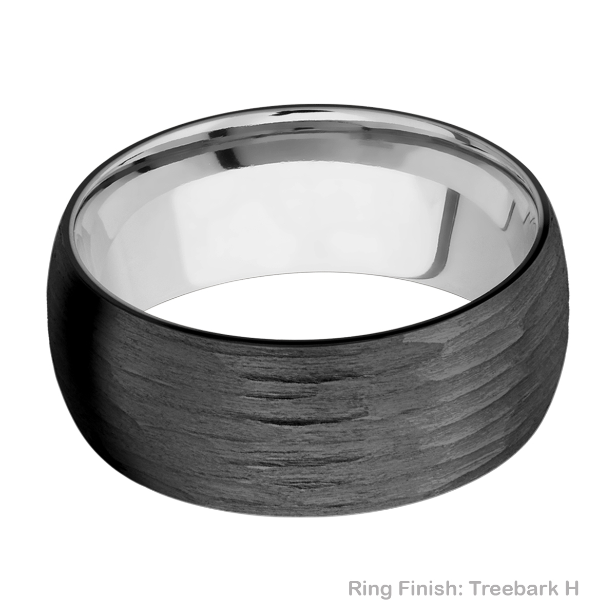 Lashbrook TISLEEVEZ9D Zirconium and Titanium Wedding Ring or Band Alternative View 9