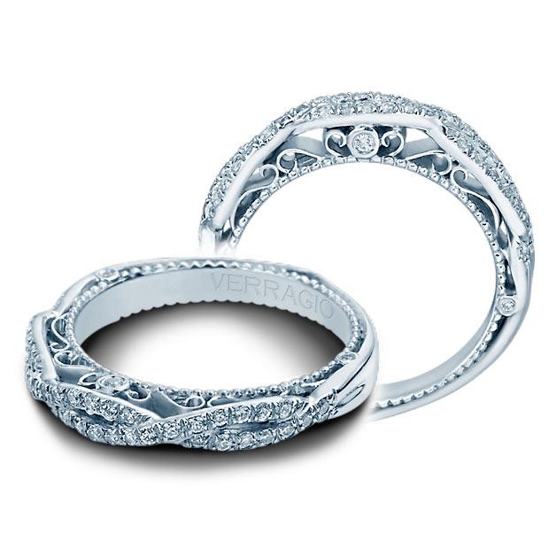 Verragio Wedding Bands.Verragio Venetian 5005w Platinum Wedding Ring Band