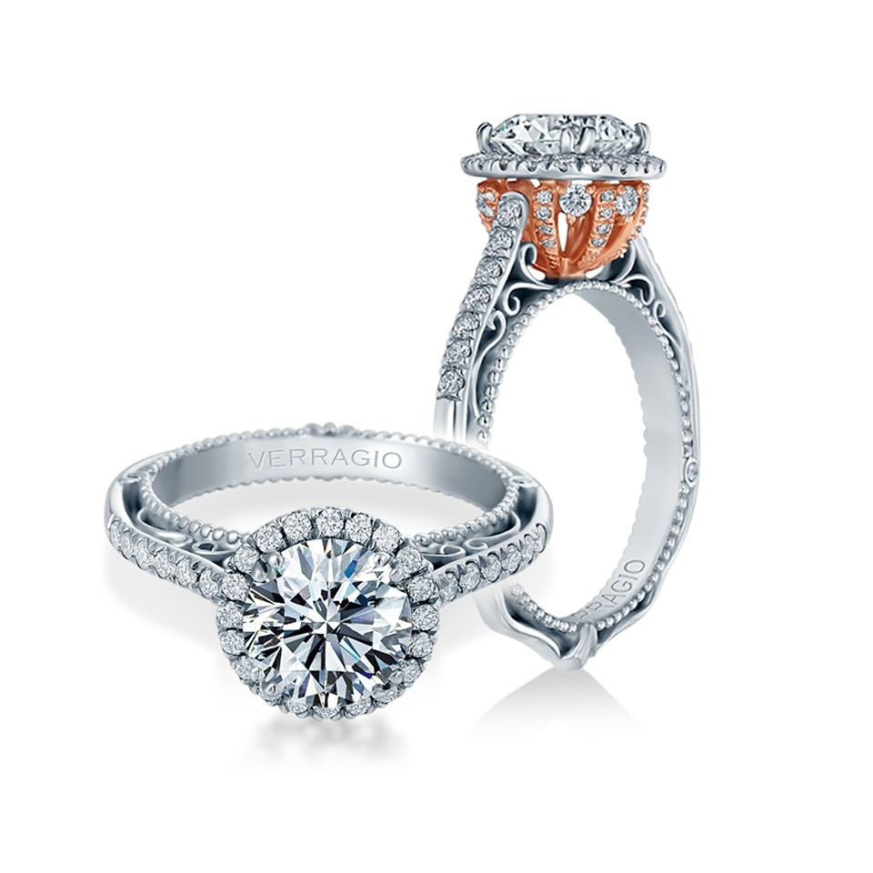 Engagement verragio rings: the venetian collection catalog photo