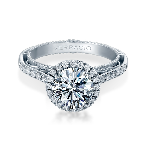 Verragio Venetian-5060R-TT Platinum Engagement Ring Alternative View 1