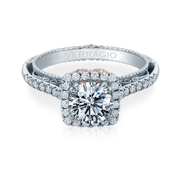 Verragio Venetian-5061CU-TT 18 Karat Engagement Ring Alternative View 1
