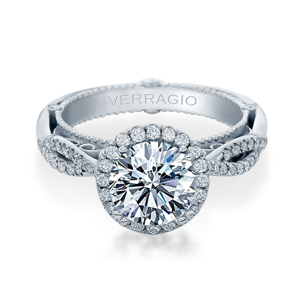 Verragio Venetian-5062R Platinum Engagement Ring Alternative View 1
