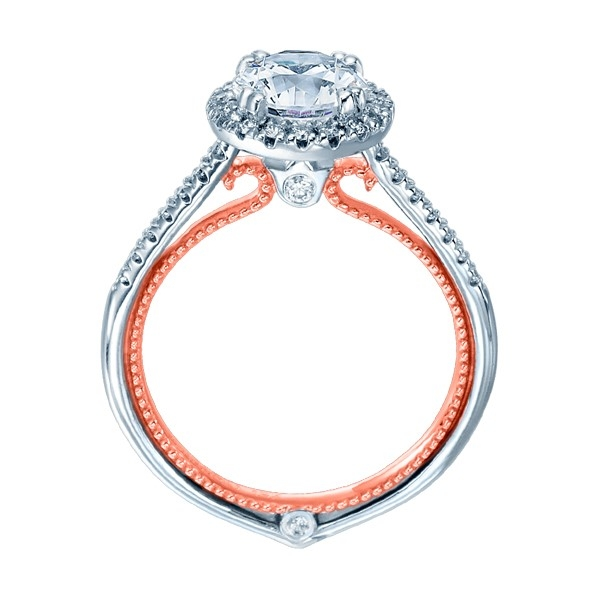 Verragio Couture-0420R-TT Platinum Engagement Ring Alternative View 1