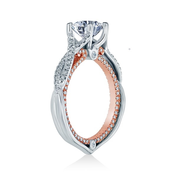 Verragio Couture-0421DR-TT 14 Karat Engagement Ring Alternative View 2