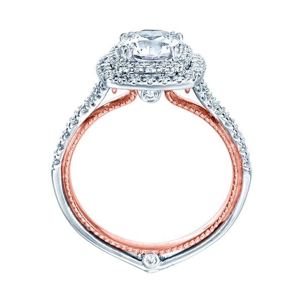 Verragio Couture-0425CU-TT Platinum Engagement Ring Alternative View 1