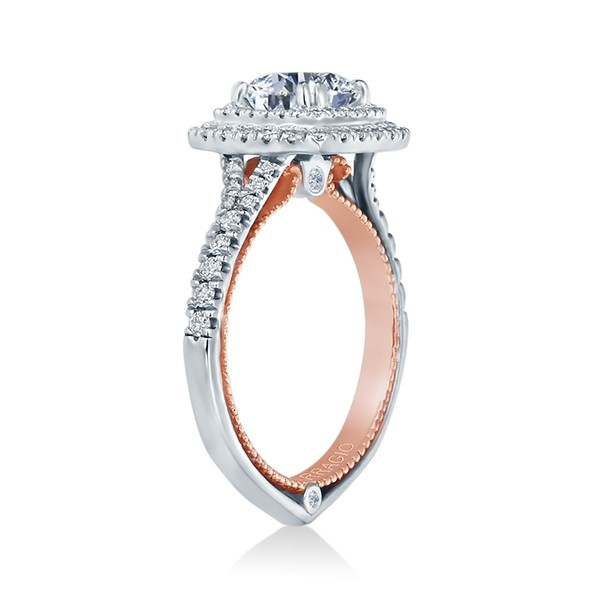 Verragio Couture-0425CU-TT Platinum Engagement Ring Alternative View 2