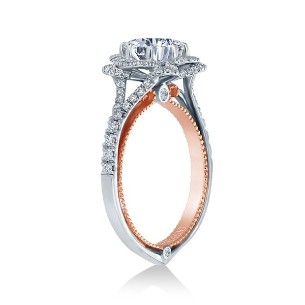 Verragio Couture-0426OV-TT 14 Karat Engagement Ring Alternative View 1