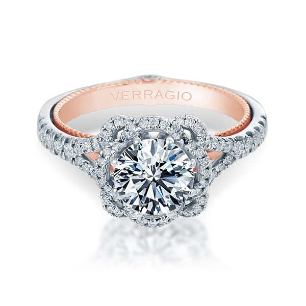 Verragio Couture-0426R-TT 14 Karat Engagement Ring