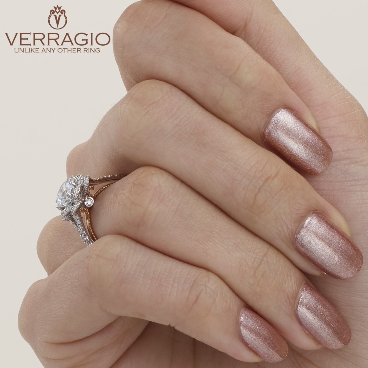 Verragio Couture-0426R-TT 18 Karat Engagement Ring Alternative View 5