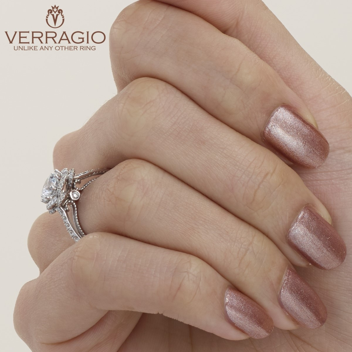 Verragio Couture-0428R 18 Karat Engagement Ring Alternative View 4