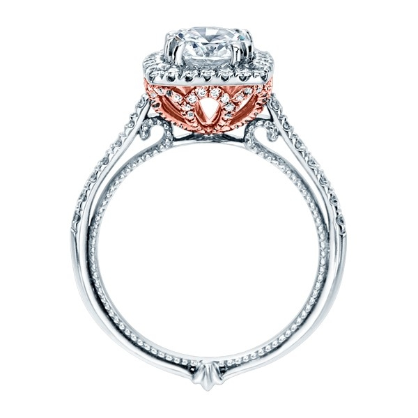 Verragio Couture-0433CU-TT Platinum Engagement Ring Alternative View 1