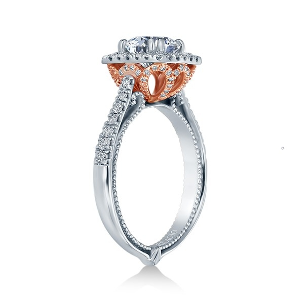 Verragio Couture-0433CU-TT Platinum Engagement Ring Alternative View 2