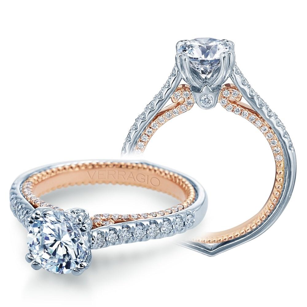 Verragio Couture 0452r 2wr 18 Karat Engagement Ring Tq