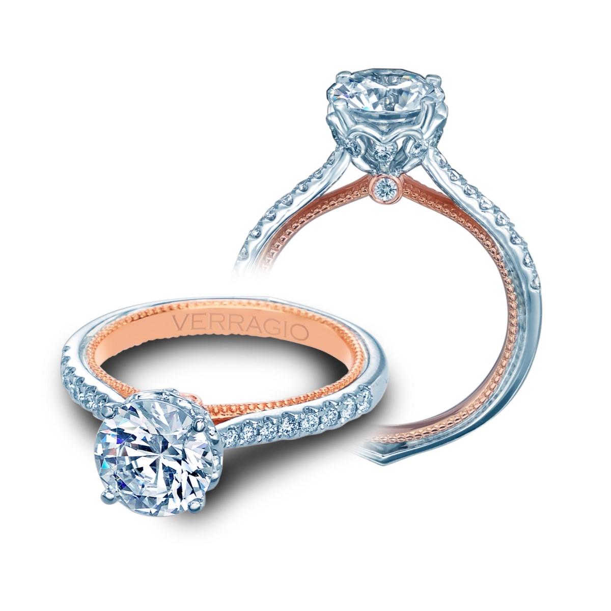Verragio Couture 0456r 2wr Platinum Enement Ring