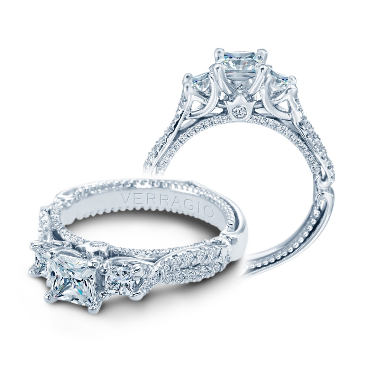 Verragio Couture-0475P 14 Karat Engagement Ring