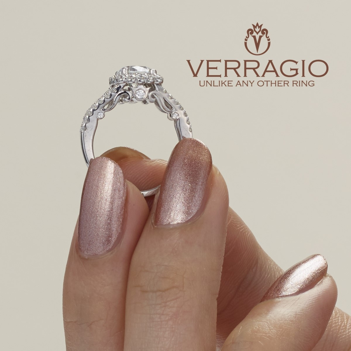 Verragio 18 Karat Insignia Engagement Ring INS-7046 Alternative View 2