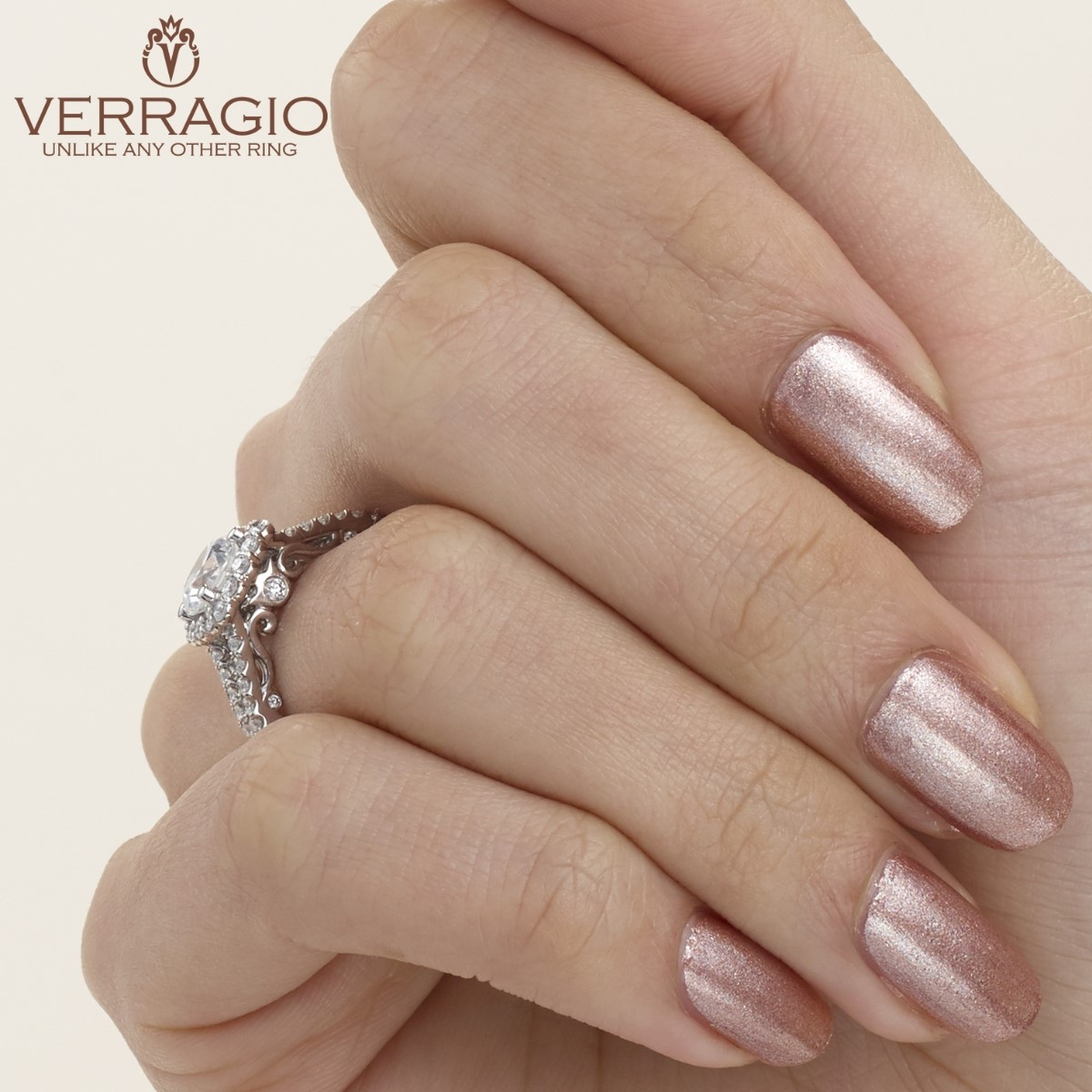 Verragio 18 Karat Insignia Engagement Ring INS-7046 Alternative View 3