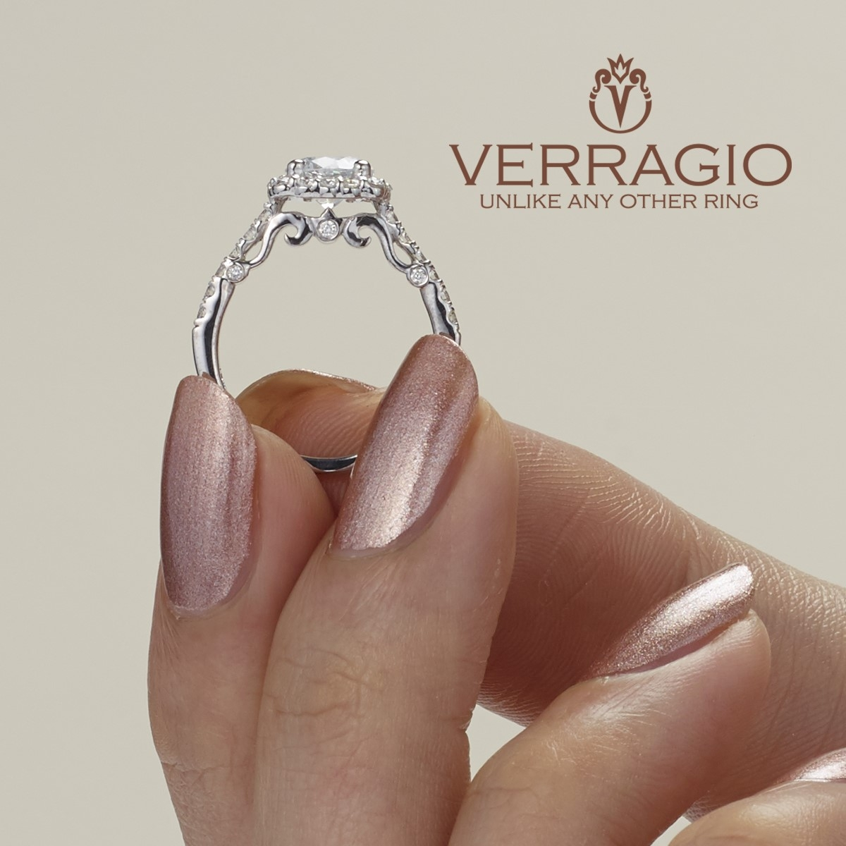Verragio 18 Karat Insignia Engagement Ring INS-7047 Alternative View 2