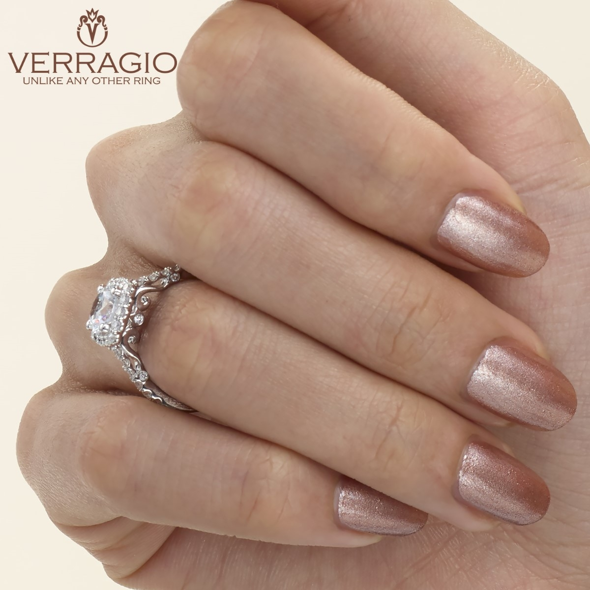 Verragio 18 Karat Insignia Engagement Ring INS-7047 Alternative View 3