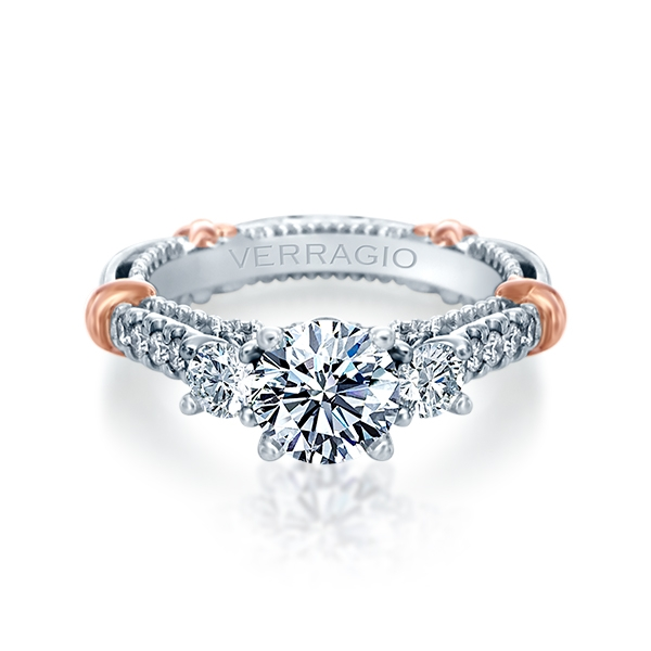 Verragio Parisian-143R Platinum Engagement Ring