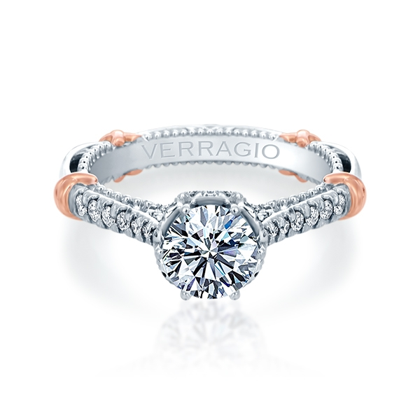 Verragio Parisian-144R Platinum Engagement Ring
