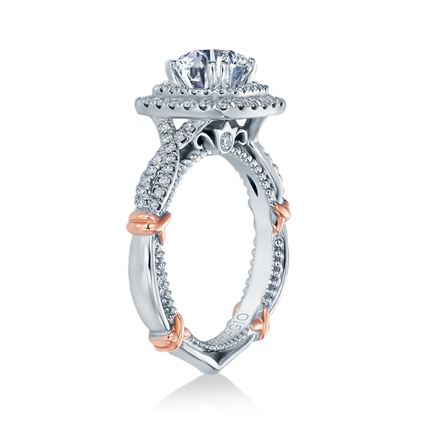 Verragio Parisian-148CU 14 Karat Engagement Ring Alternative View 1