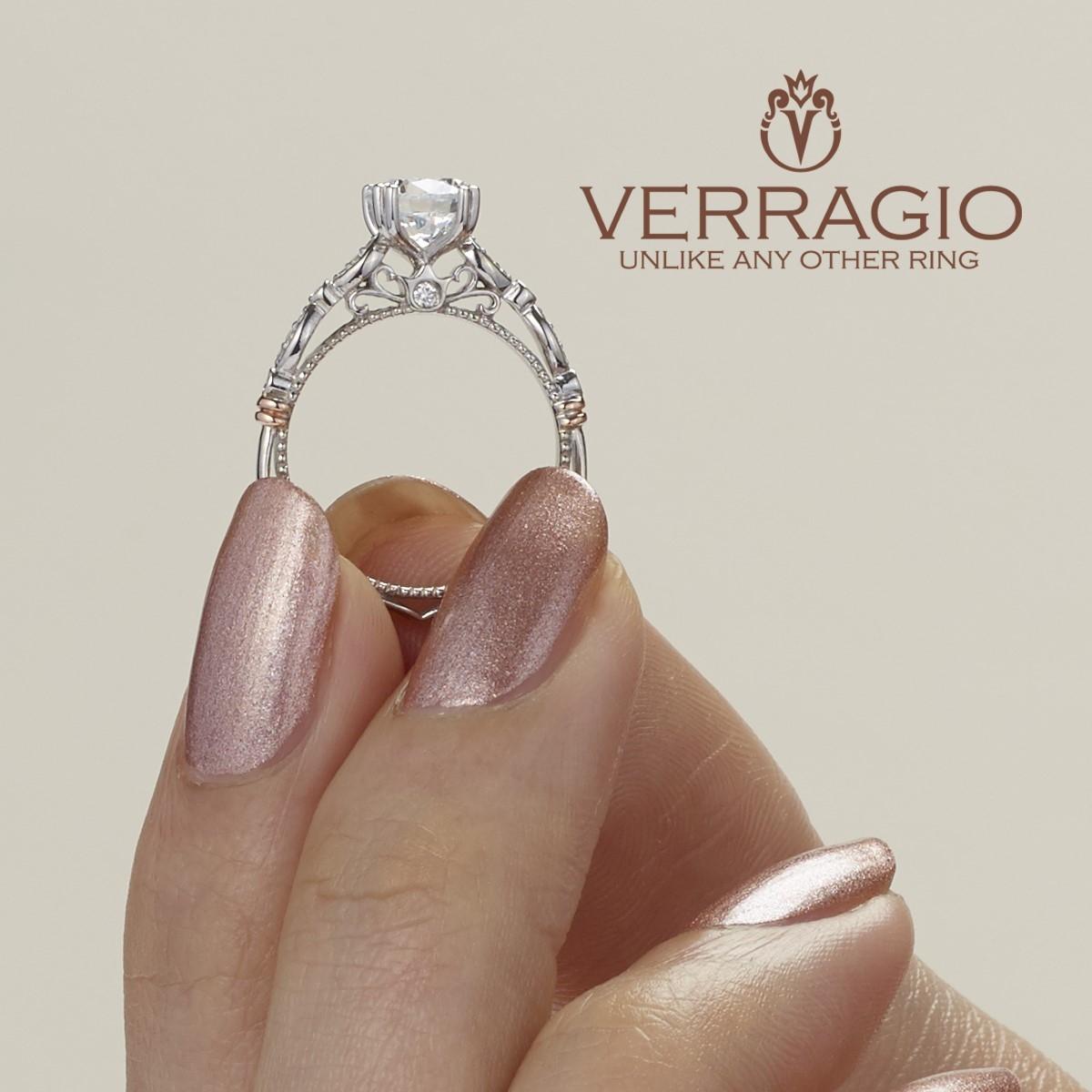 Verragio Parisian 100 18 Karat Engagement Ring Tq Diamonds