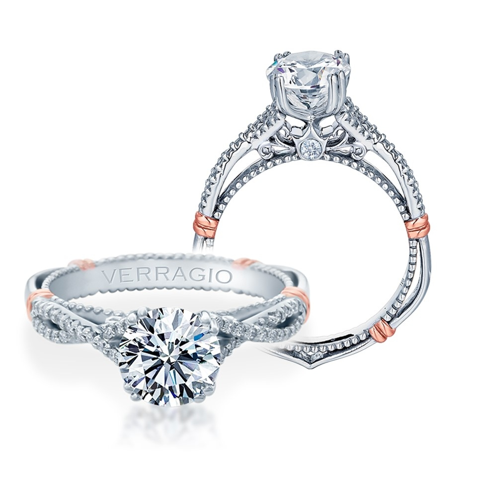 Verragio Parisian-105 Platinum Engagement Ring