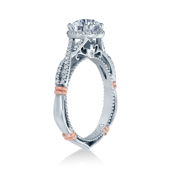 Verragio Parisian-106R Platinum Engagement Ring Alternative View 2