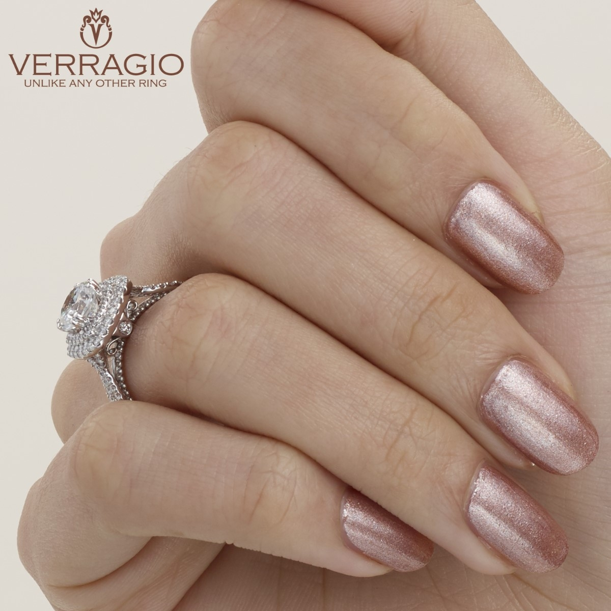 Verragio Parisian-148CU 14 Karat Engagement Ring Alternative View 3