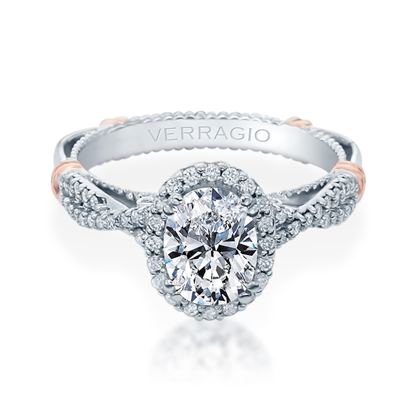 Verragio Parisian-152OV 14 Karat Engagement Ring