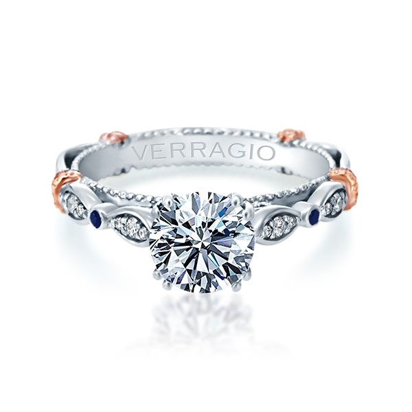 Verragio Parisian-CL-DL100 Platinum Engagement Ring Alternative View 1