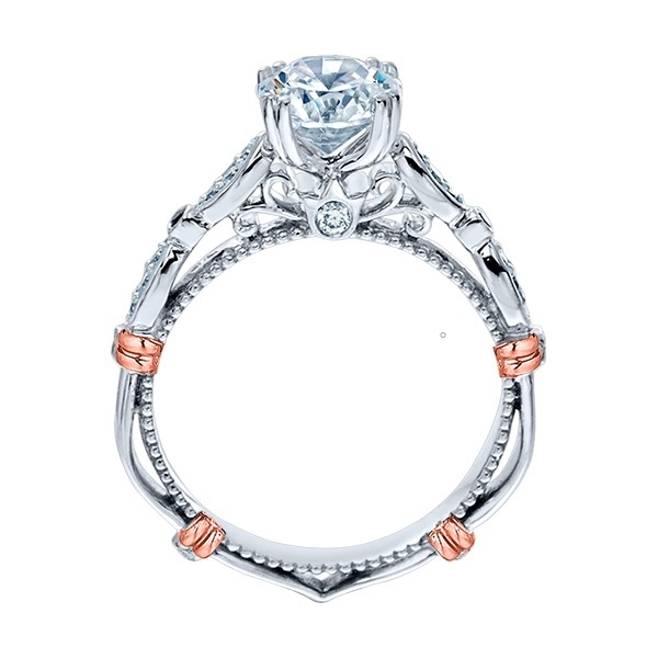 Verragio Parisian-CL-DL100 14 Karat Engagement Ring Alternative View 3