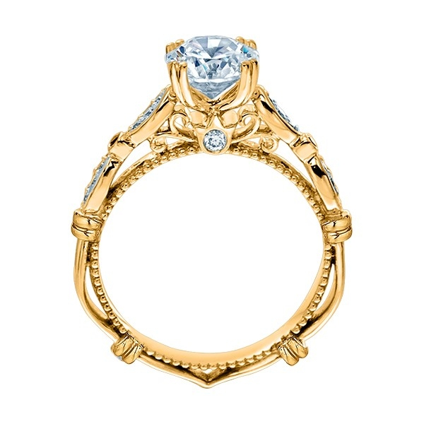 Verragio Parisian-CL-DL100 14 Karat Engagement Ring Alternative View 5