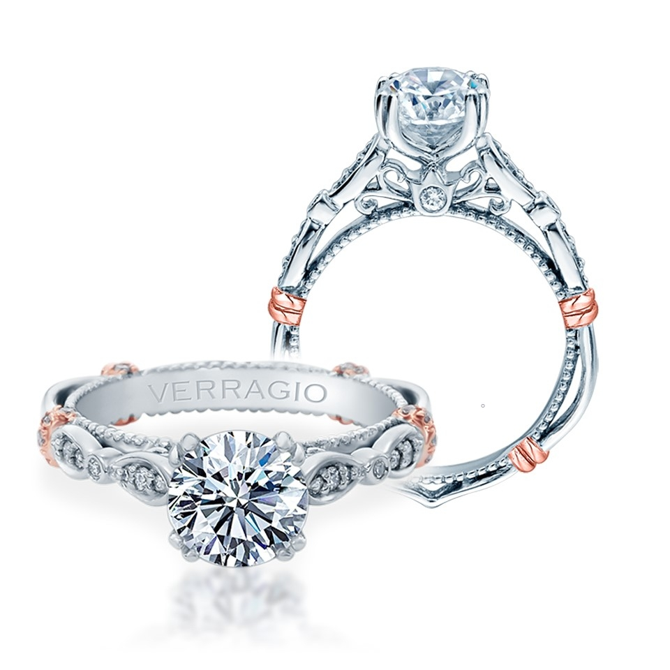 Verragio Parisian-DL100 18 Karat Engagement Ring