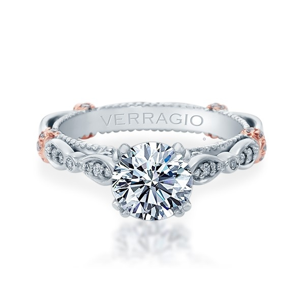 Verragio Parisian-DL100 18 Karat Engagement Ring Alternative View 1