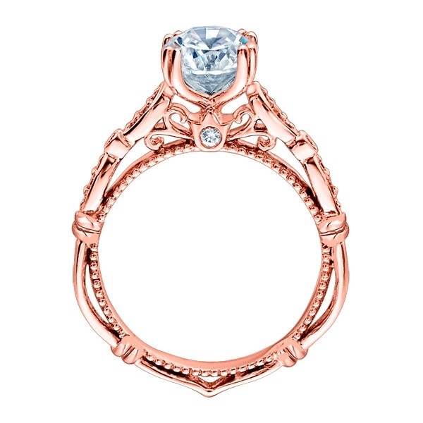 Verragio Parisian-DL100 18 Karat Engagement Ring Alternative View 4