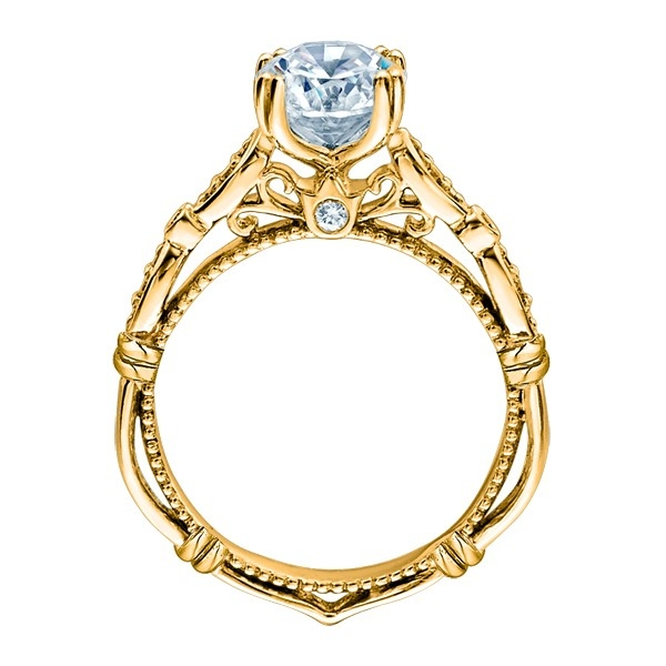 Verragio Parisian-DL100 18 Karat Engagement Ring Alternative View 3