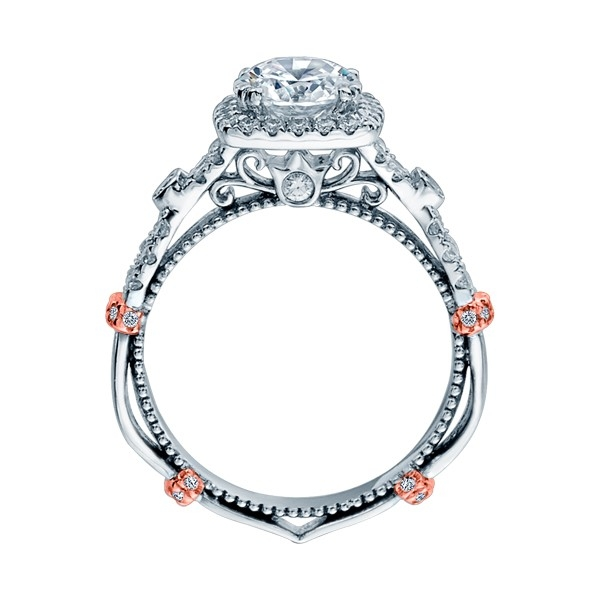 Verragio Parisian-DL109CU Platinum Engagement Ring Alternative View 3