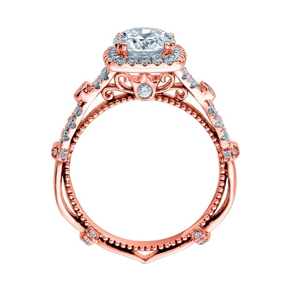 Verragio Parisian-DL109CU Platinum Engagement Ring Alternative View 5