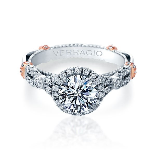 Verragio Parisian-DL109R Platinum Engagement Ring Alternative View 1