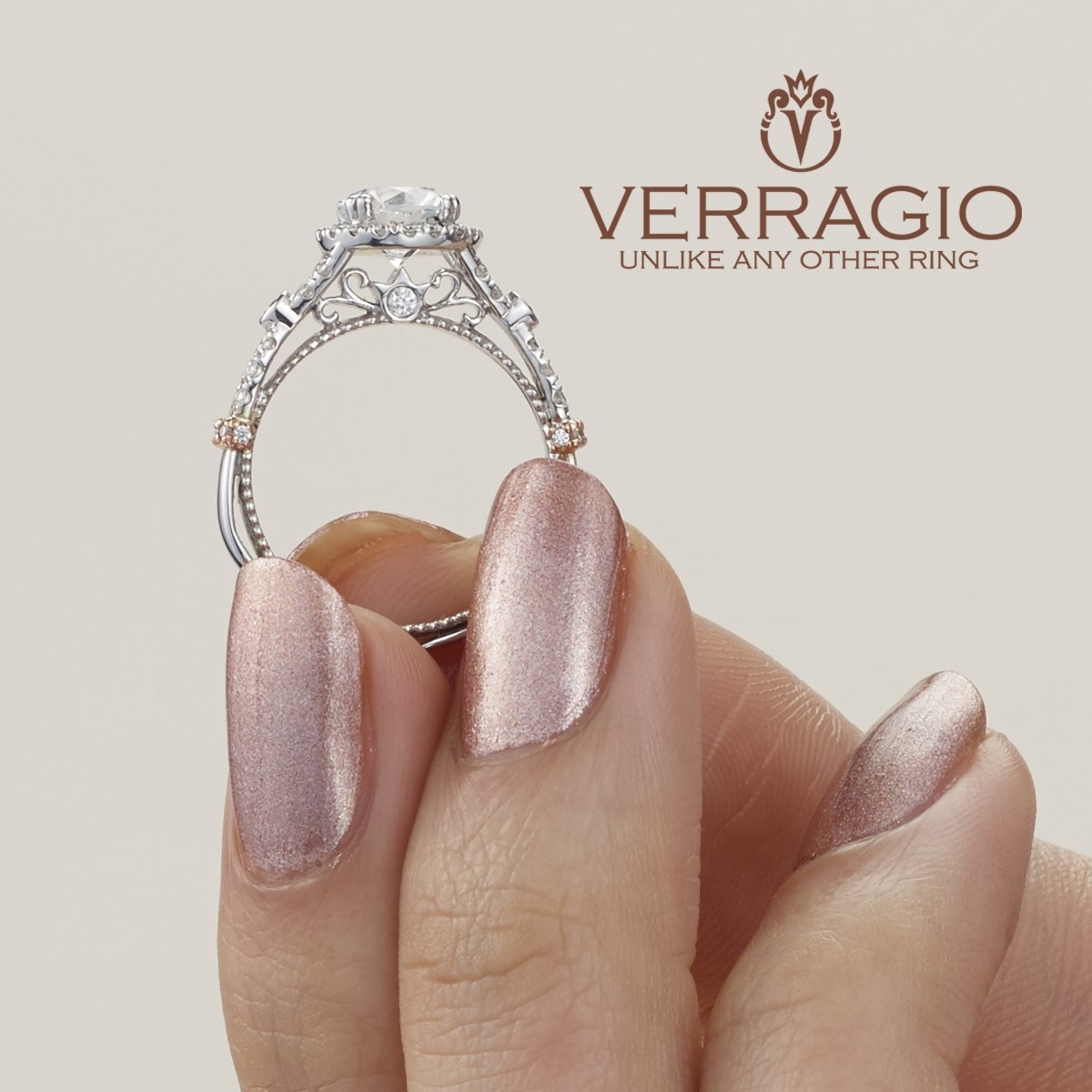 Verragio Parisian-DL109R 18 Karat Engagement Ring Alternative View 6