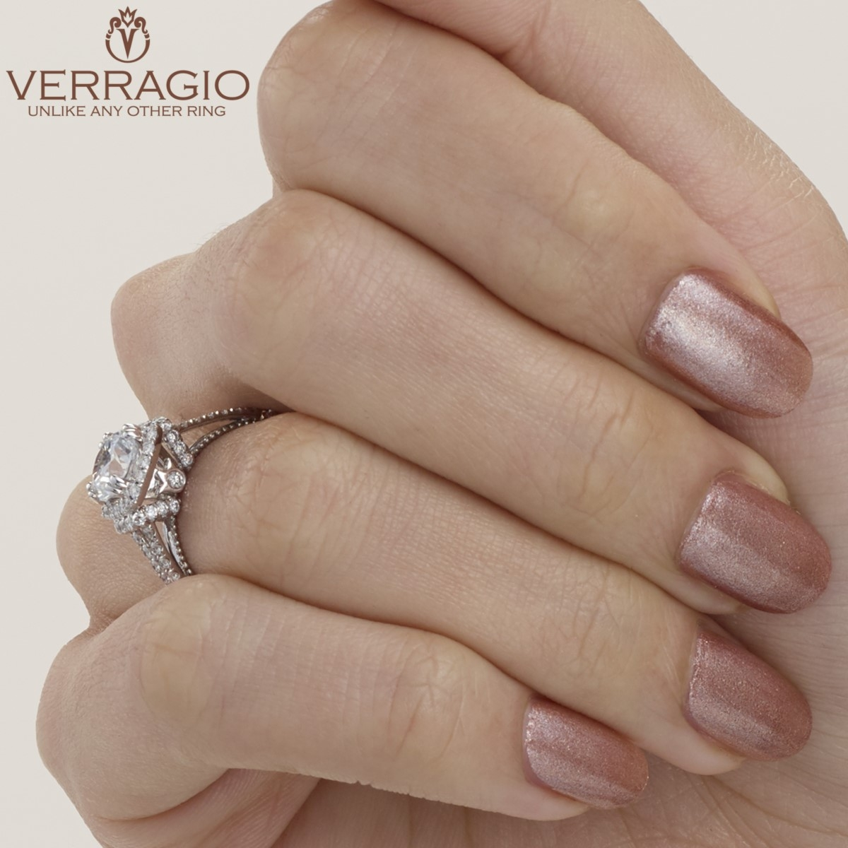 Verragio Parisian-DL117CU 14 Karat Engagement Ring Alternative View 7