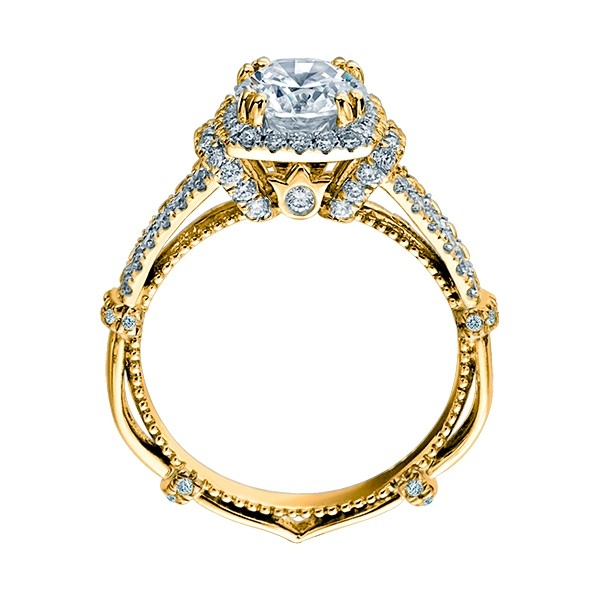 Verragio Parisian-DL117CU 14 Karat Engagement Ring Alternative View 4