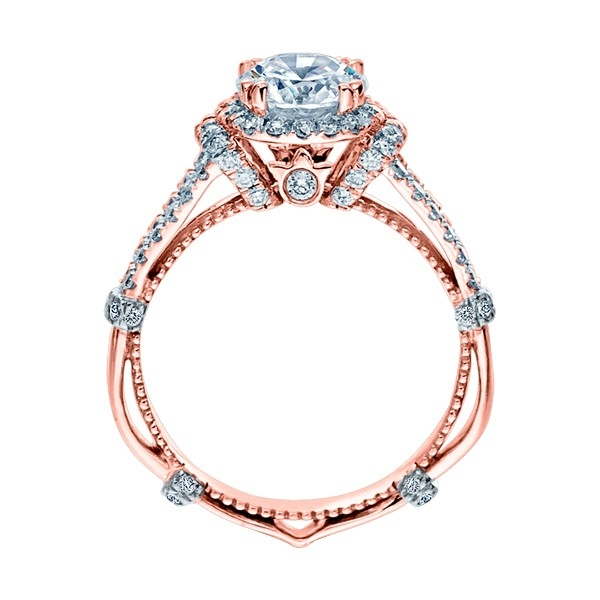 Verragio Parisian-DL117R 18 Karat Engagement Ring Alternative View 3