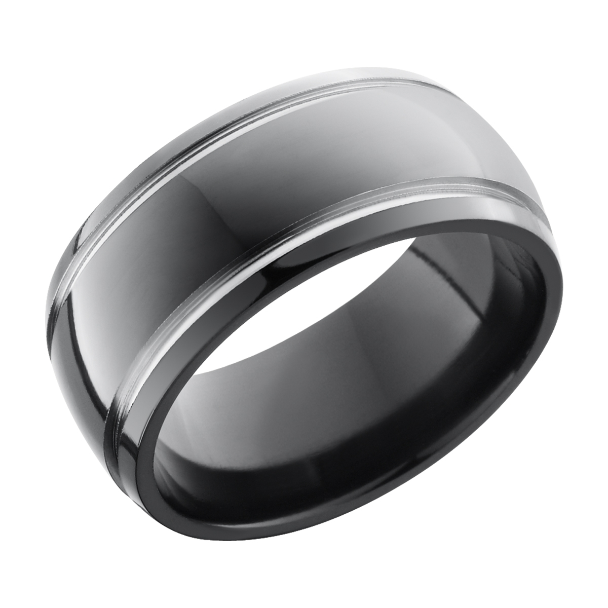It is just a picture of Lashbrook Z44D/44W Polish Zirconium Wedding Ring or Band