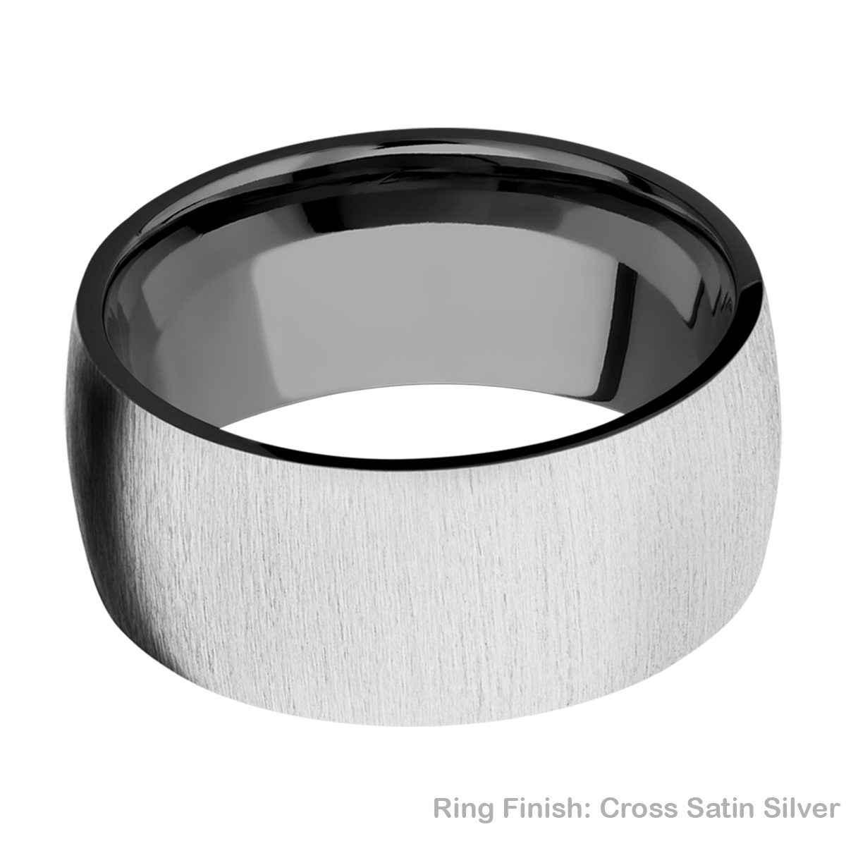 Lashbrook Z10D Zirconium Wedding Ring or Band Alternative View 6