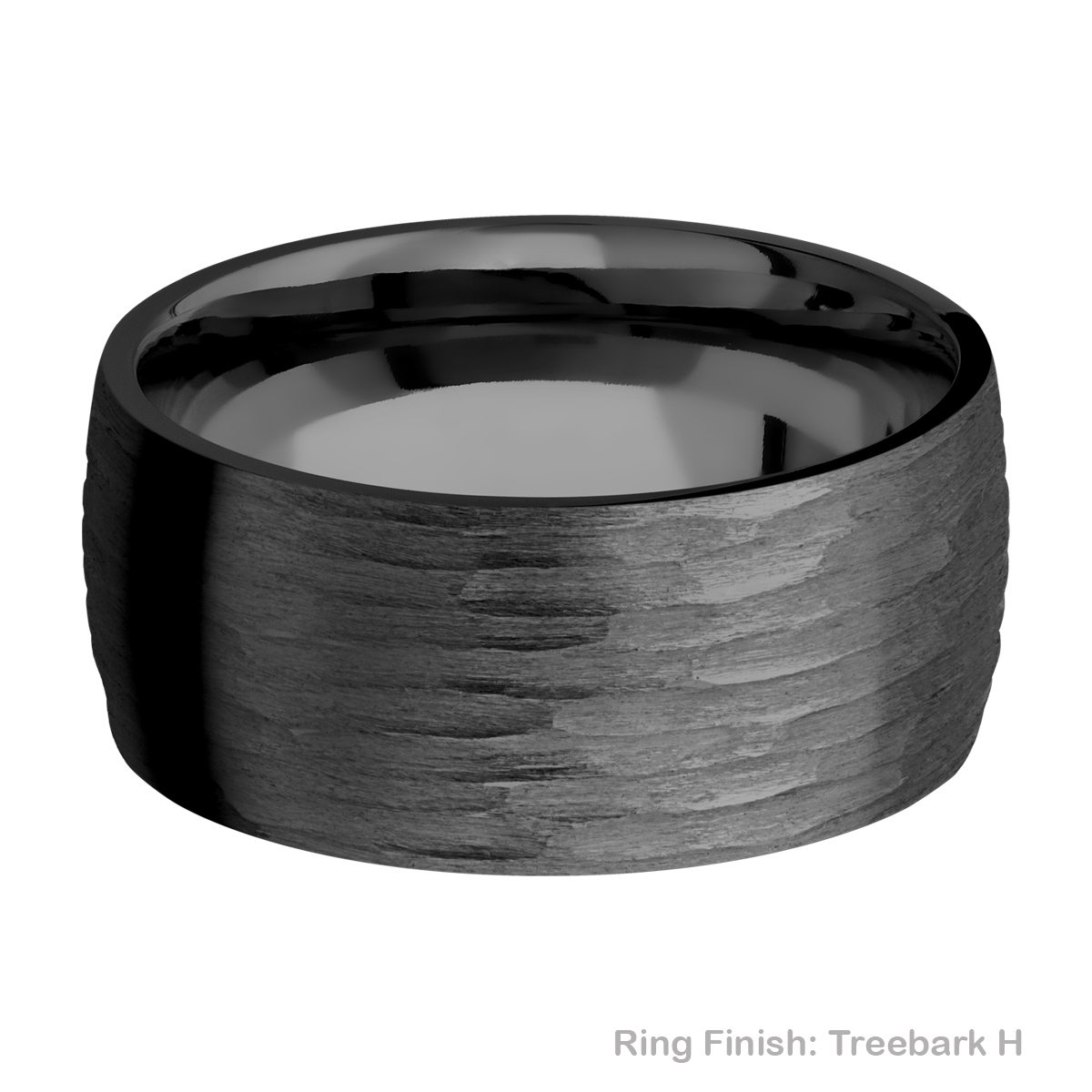 Lashbrook Z10D Zirconium Wedding Ring or Band Alternative View 10