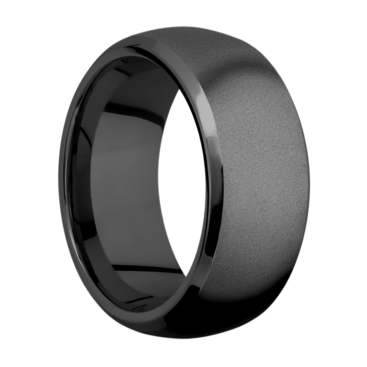Lashbrook Z10DB Zirconium Wedding Ring or Band Alternative View 1