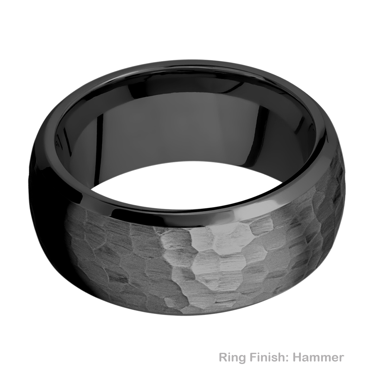 Lashbrook Z10DB Zirconium Wedding Ring or Band Alternative View 6